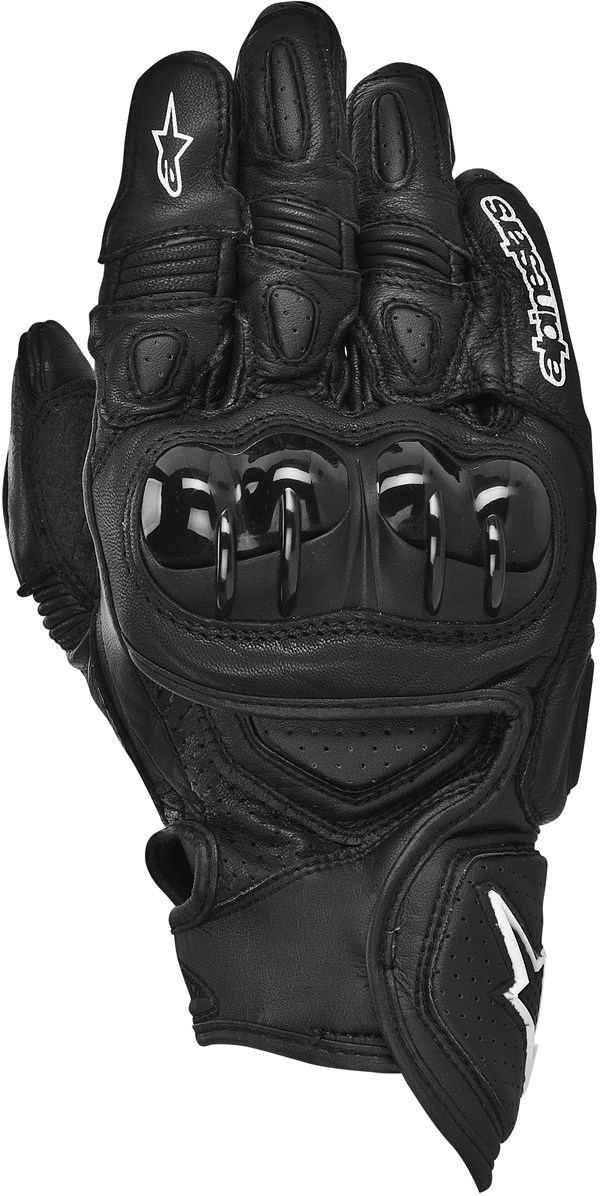 Alpinestars GPX leather gloves black