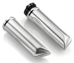 Manopole Rizoma Shine, silver