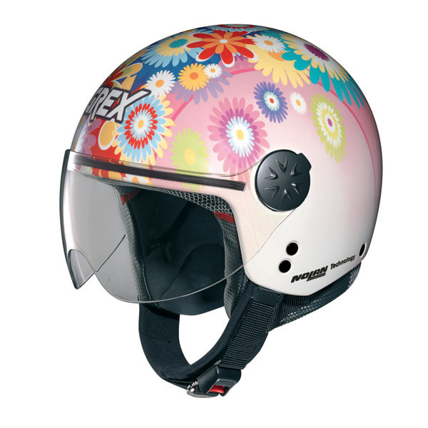 Casco moto jet Grex DJ1 City Artwork 107