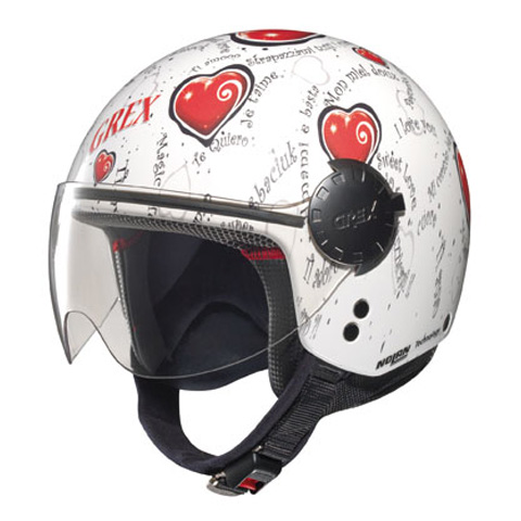 Casco moto jet Grex DJ1 City Artwork 129