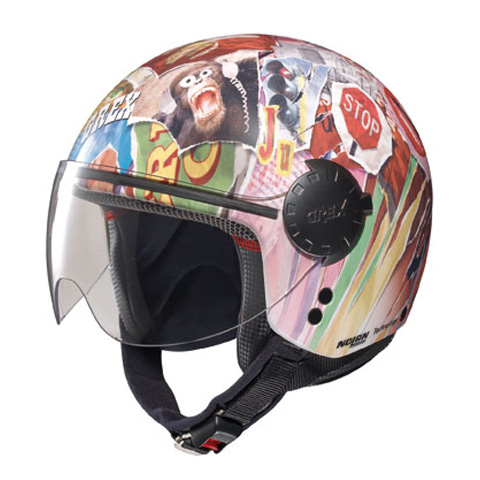 Casco moto jet Grex DJ1 City Artwork 131