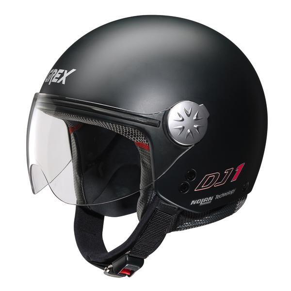 Grex DJ1 City jet helmet Kinetic Flat Black