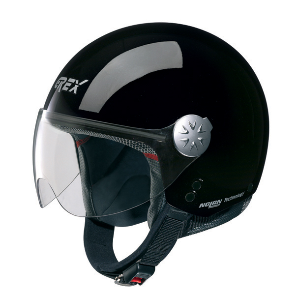Casco moto jet Grex DJ1 City One Nero