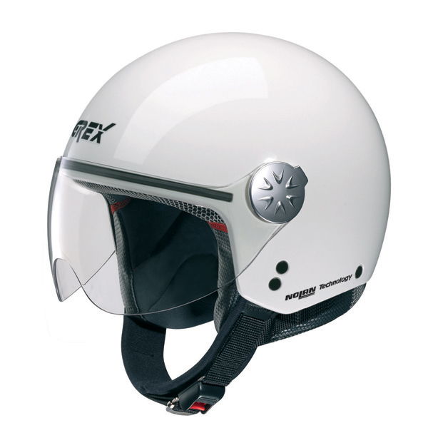 Grex DJ1 City One jet helmet White