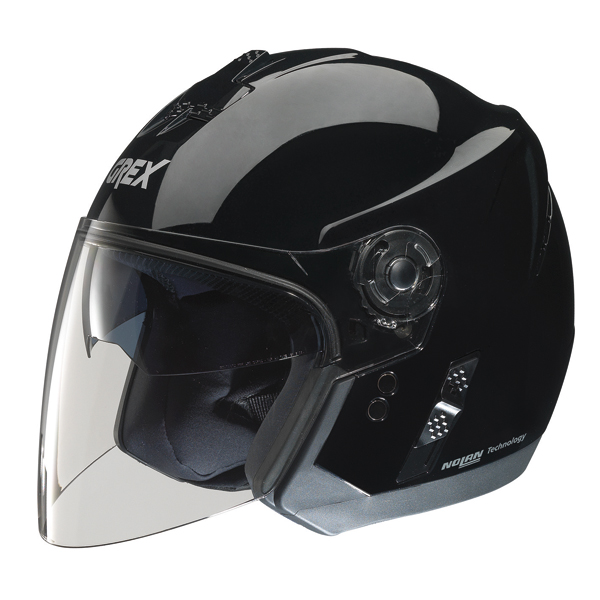 Casco moto jet Grex J2 One nero