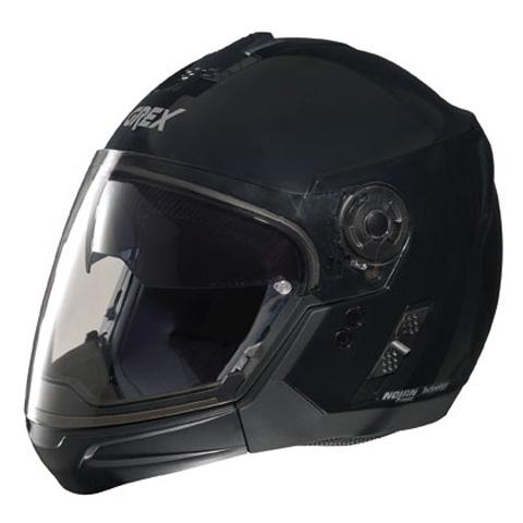 Casco moto Grex J2 PRO One nero - mentoniera staccabile