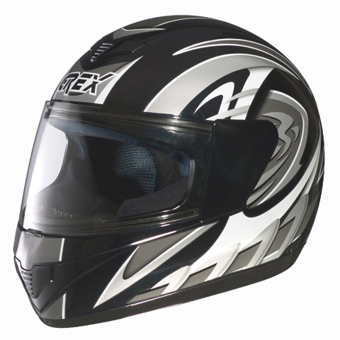 Casco moto integrale Grex R1 Decor Nero