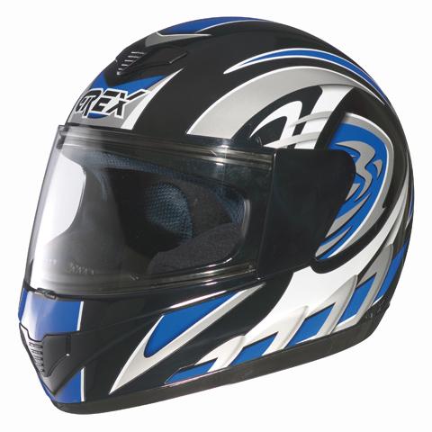 Grex R1 Decor full face helmet Blue