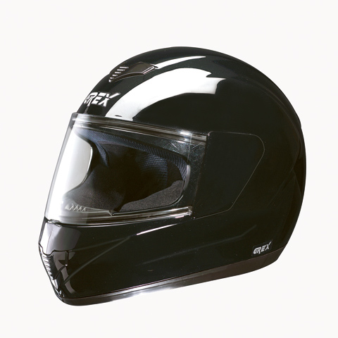 Casco moto integrale Grex R1 One nero