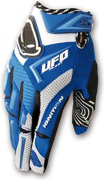 Ufo Plast Ignition enduro gloves blu