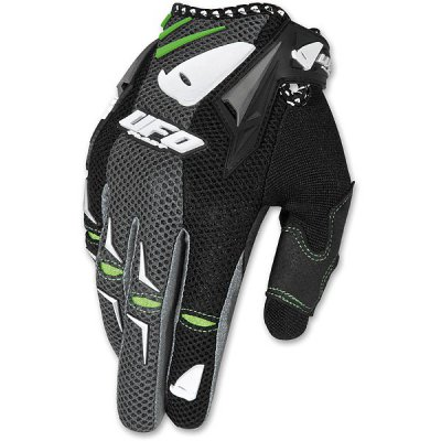 Guanti cross UFO Airbase Gloves Nero