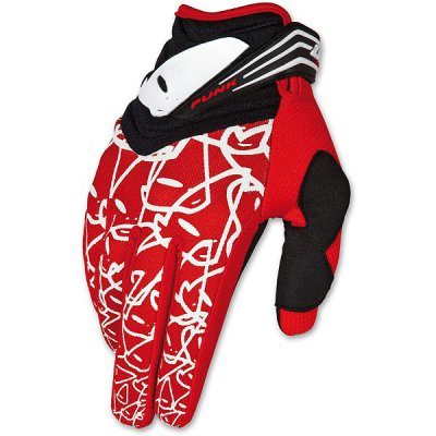Guanti cross UFO Punk Gloves Rosso