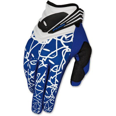 Gloves cross UFO Punk Gloves Blue