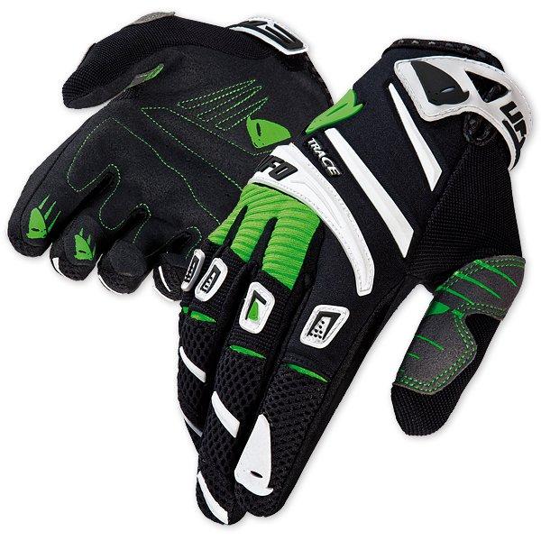 Ufo Plast Trace cross gloves Green Black