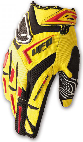 Ufo Plast ignition kid gloves yellow