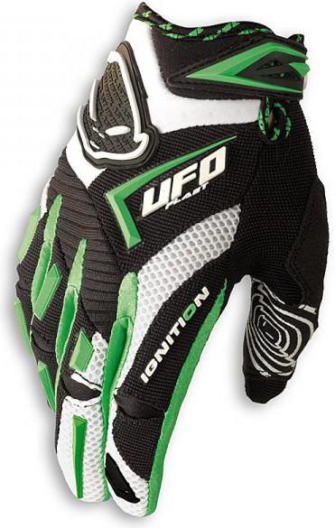 Ufo Plast ignition kid gloves green