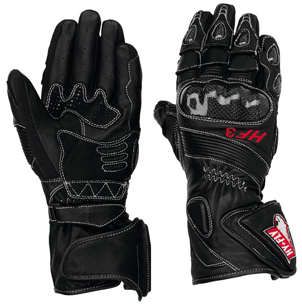 Hy Fly HF3 leather gloves Black
