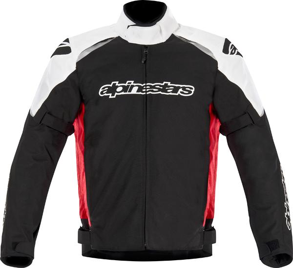 Alpinestar Gunner Waterproof motorcycle jacket black-red-white