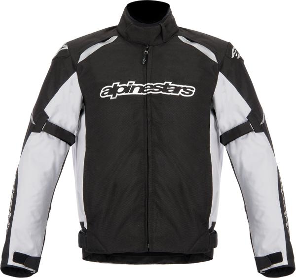 Giacca moto Alpinestars Gunner waterproof nero-bianco