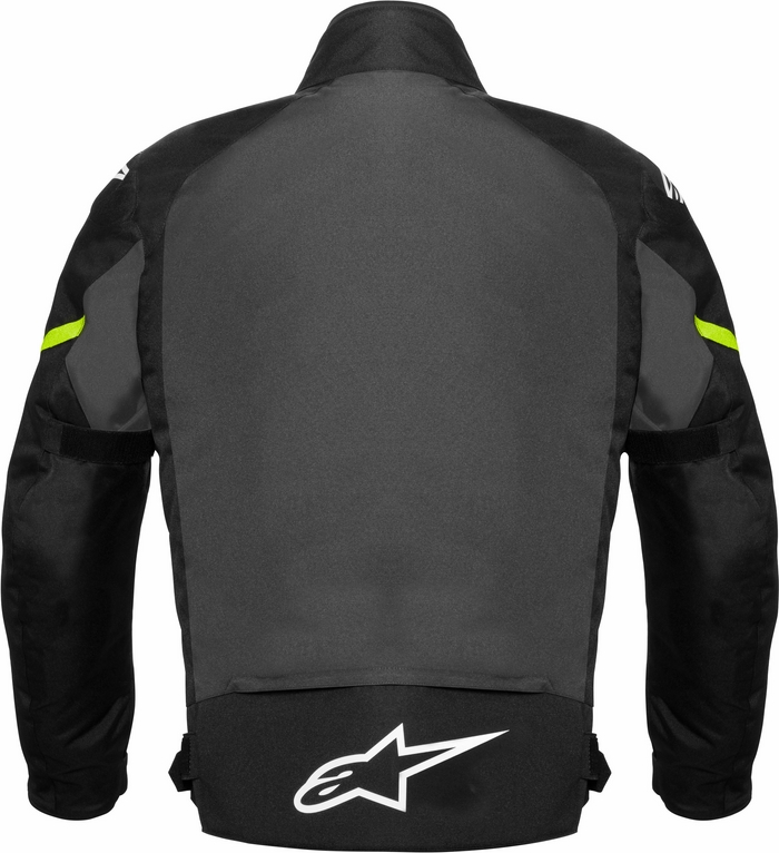 Alpinestar Gunner Waterproof motorcycle jacket black-grey-fluo