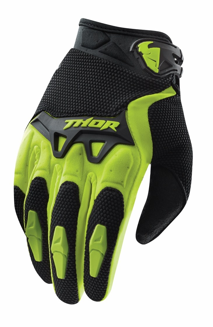 Thor Spectrum S15 gloves green