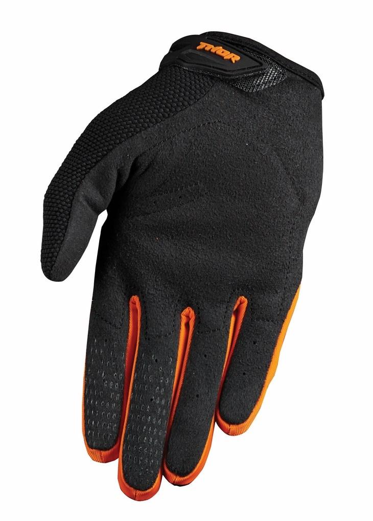 Thor Spectrum S15 gloves orange