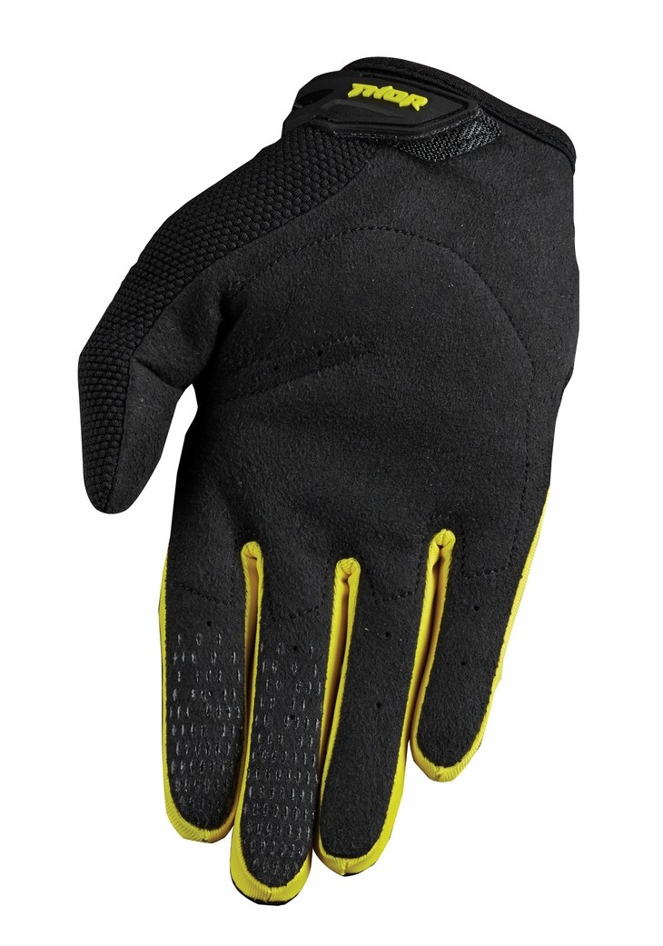 Guanti cross Thor Spectrum S15 giallo