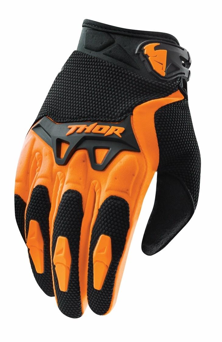 Thor Youth Spectrum gloves orange