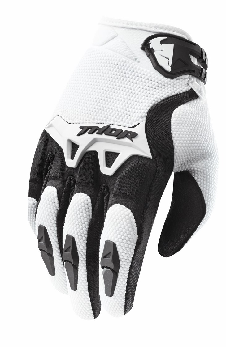 Thor Youth Spectrum gloves white