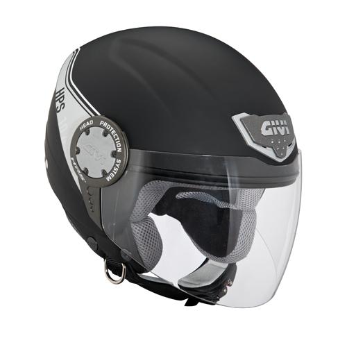 Jet Helmet Givi 10.4 Black
