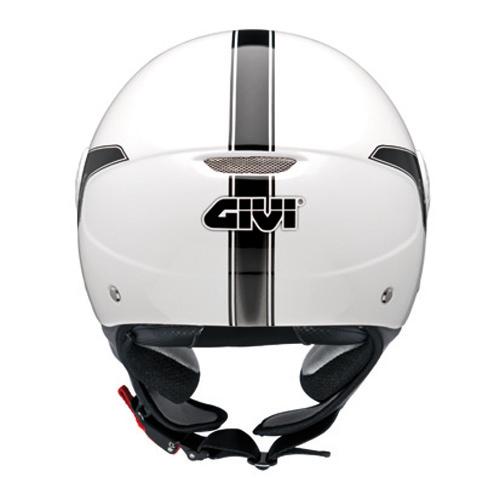 Casco jet Givi 10.7 Mini-J Bianco perla