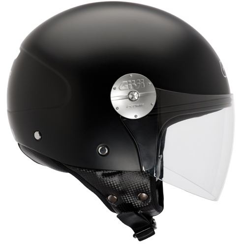 Casco jet Givi 10.7 Mini-J Nero opaco