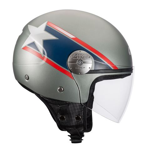 Givi 10.7 Mini-J Star jet helmet USA