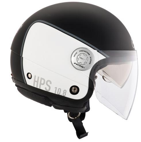 Jet Helmet Givi 10.8-J Urban Black White