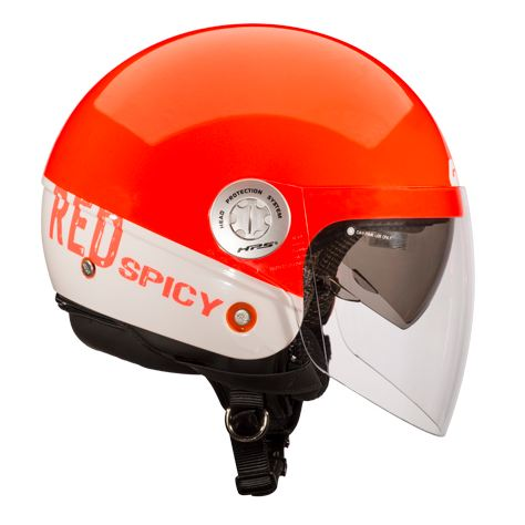 Givi 10.8 Urban-J City jet helmet Red