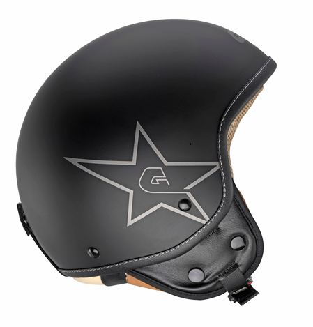 Givi 10.9 Easy-J Black Star jet helmet