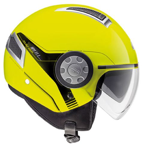 Jet Air Jet Helmet Givi 11.1 Neon Yellow