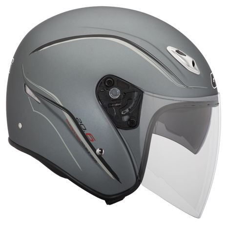 Givi 20.6 Fiber-J2 jet helmet Titanium