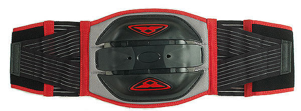 Prexport back support 4 shields Black Red
