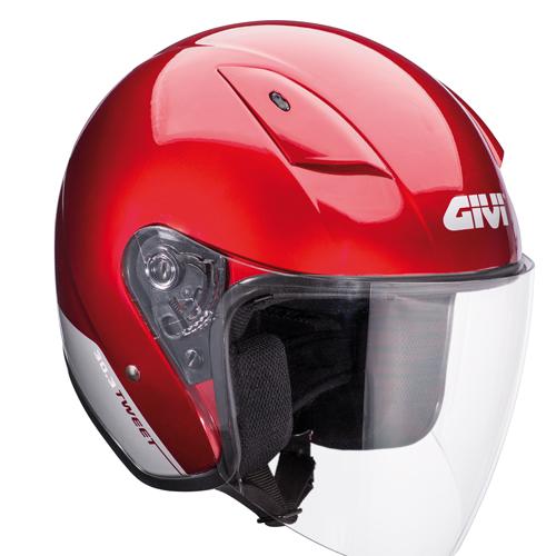 Givi 30.3 Tweet jet helmet Bordeaux