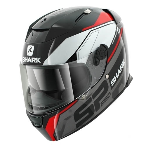 Shark Helmet Speed-R Sauer Black Anthracite Red
