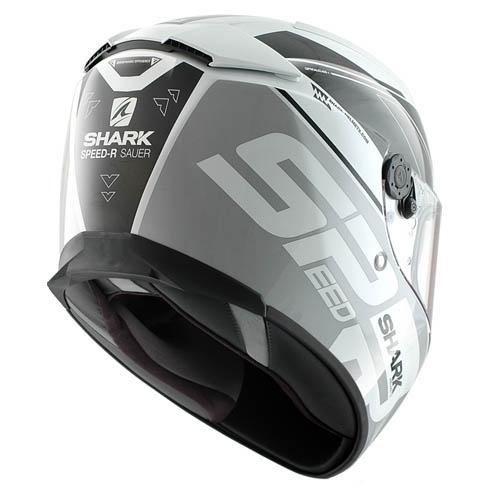 Shark Helmet Speed-R Sauer White Silver Black