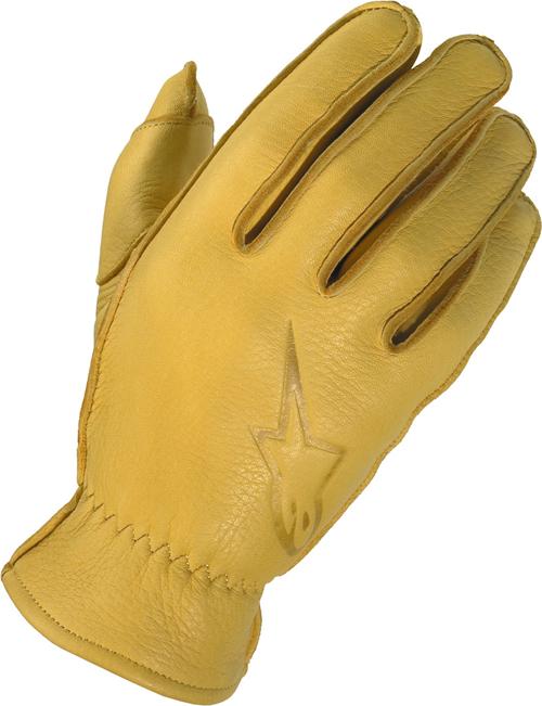 Alpinestars Stella Hero women leather gloves khaki