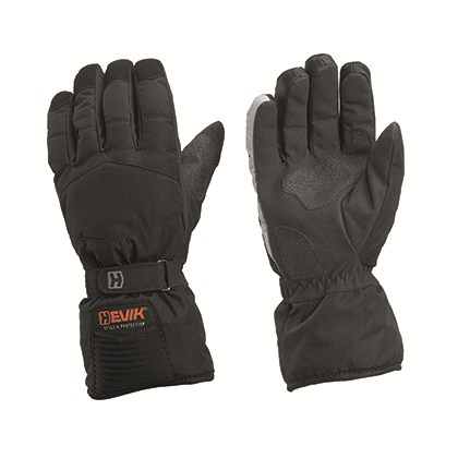 Hevik Amsterdam winter gloves Black