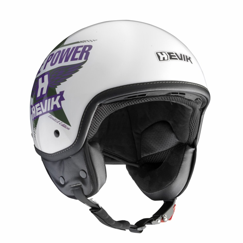 Jet Helmet Hevik HV9 LIMITED EDITION White