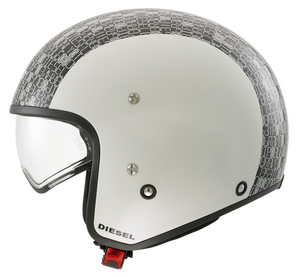 Casco moto Diesel Hi-Jack Multi Digit cool grey