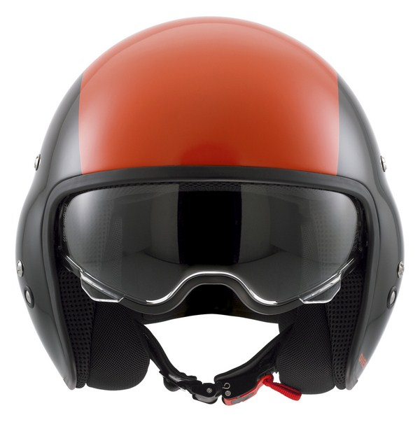 Diesel Hi-Jack Multi  jet helmet black-orange