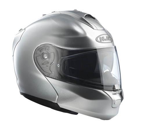 Casco moto modulare HJC RPHA MAX Argento