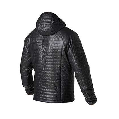 Hevik Down jacket Black Green
