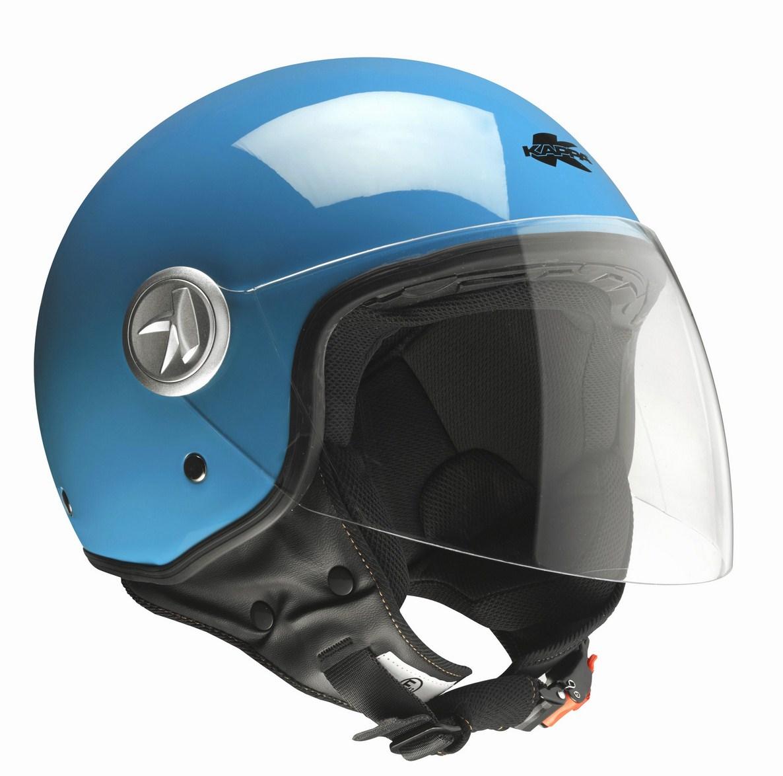 Kappa KV20 Rio long visor jet helmet Blue